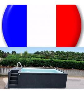 Container piscine mobile 5M25x2M55x1M26 Villefranche-de-Rouergue