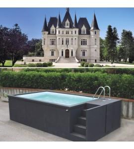 Poitiers piscine container sans travaux 5M25x2M55x1M26