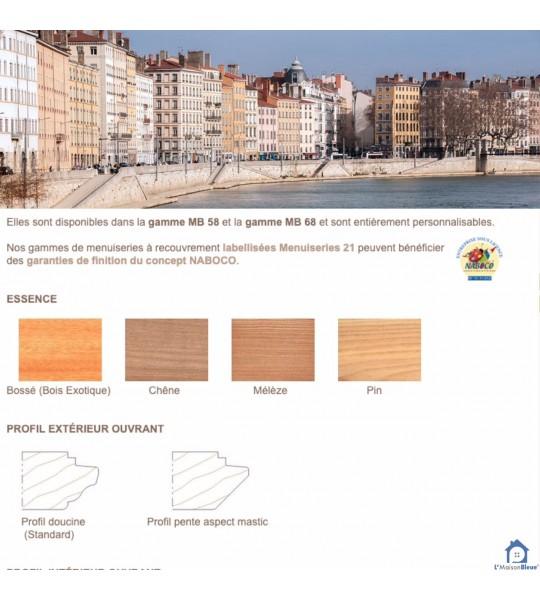 Menuiseries bois sur mesure Lyon (01)