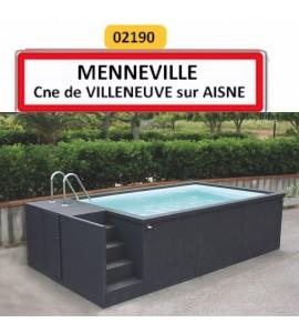 Piscine container 5M25x2M55x1M26 Menneville (02190)