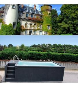 Villefranche-sur-Saône container piscine 5M25x2M55x1M26