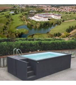 Magny-le-Hongre (77) container piscine 5M25x2M55x1M26