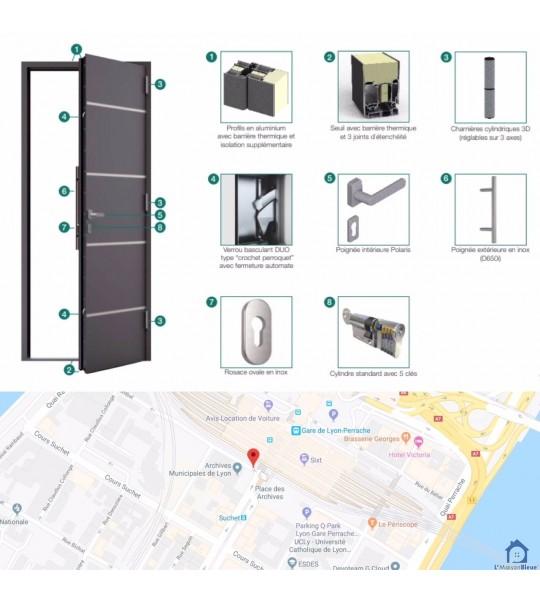 Changer les fenêtres rue Dugas-Montbel, 69002 Lyon