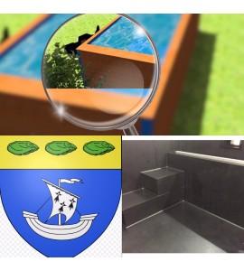 Piscine container 9Mx2M50x1M20 Morbihan (56)