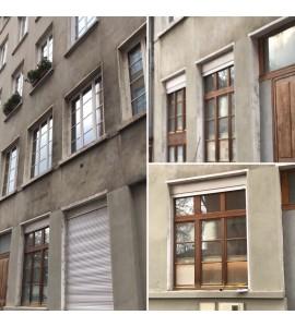 Menuiseries bois sur mesure rue rivet 69001 Lyon
