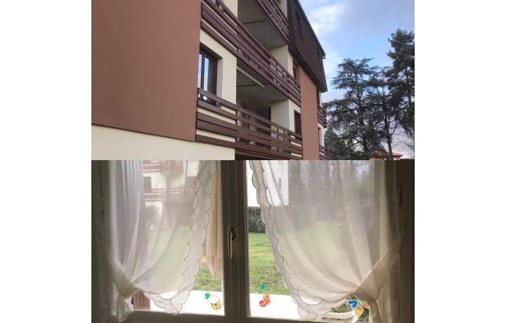 Changer les fenêtres avenue du Chater 69340 Francheville Fenêtres PVC  appartement en en rez de jardin