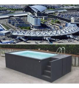 Lyon Saint-Exupéry (69125) Container piscine 5M25x2M55x1M26