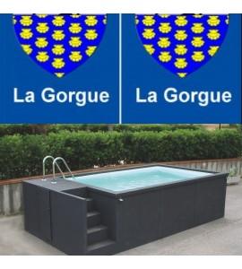 Piscine container 5M25x2M55x1M26 (59253) la Gorgue