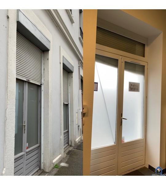 Changer menuiseries et volets roulants rue d'Inkermann (69100) Villeurbanne