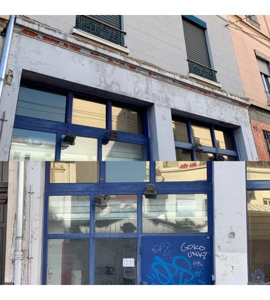 Changer châssis et porte rue notre Dame (69006) Lyon