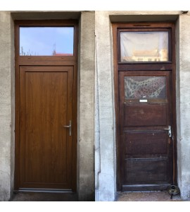 Changer porte maison rue Lortet Oulllins (69600)