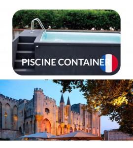 Avignon container piscine 5M25x2M55x1M26