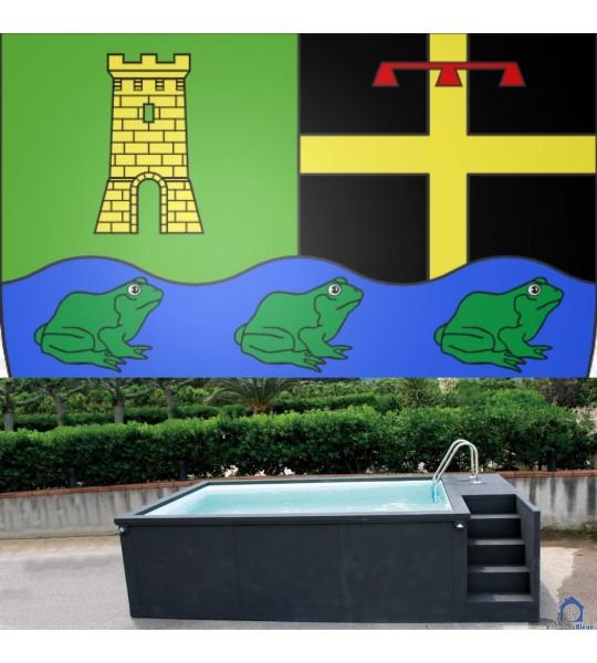 (21410) Fleurey sur Ouche container piscine hors sol 5M25x2M55x1M26