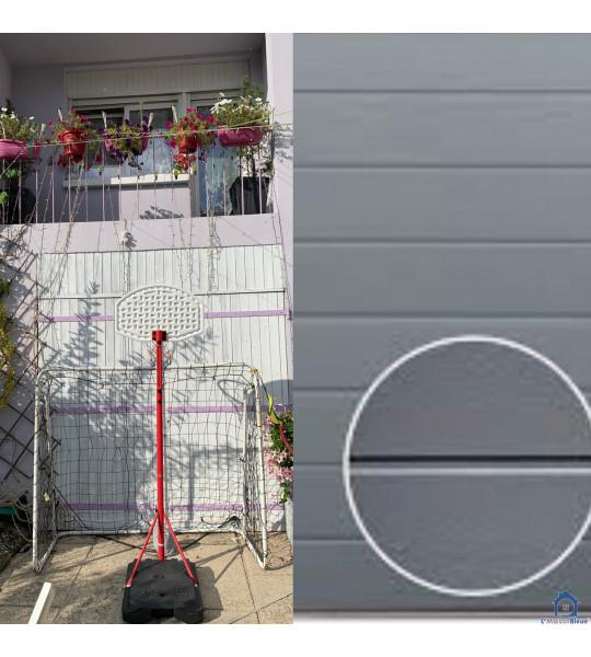 Porte de garage blanc motorisée 69330 Meyzieu