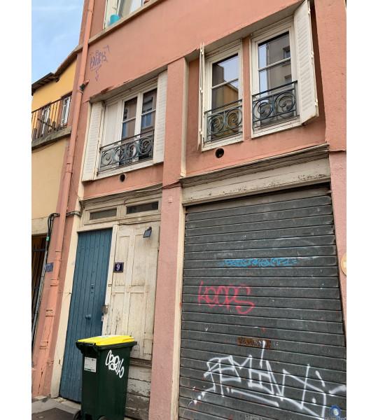 Pose fenêtres phonique rue de l'Alma 69001 Lyon