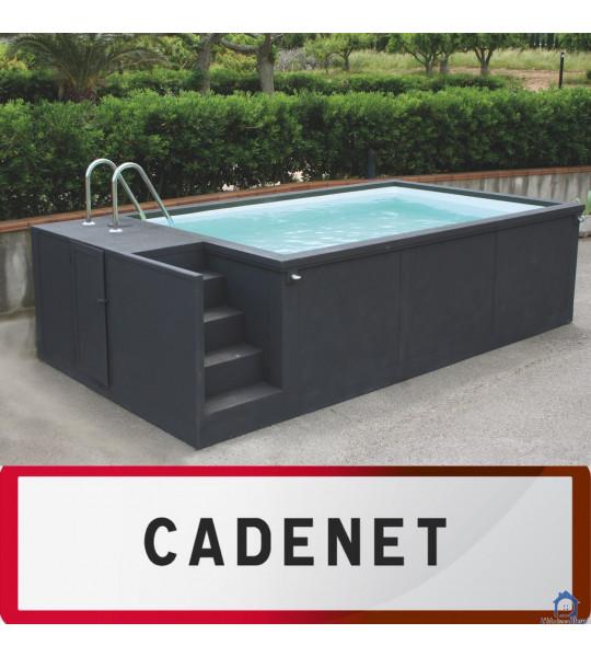 Container piscine 5M25x2M55x1M26 - 84160 Cadenet