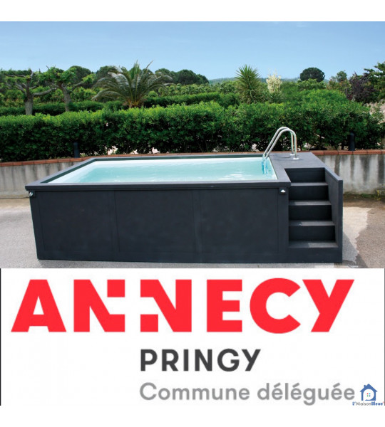 74370 Pringy Annecy piscine container 5M25x2M55x1M26