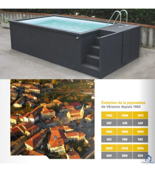 42520 Véranne piscine container 5M25x2M55x1M26