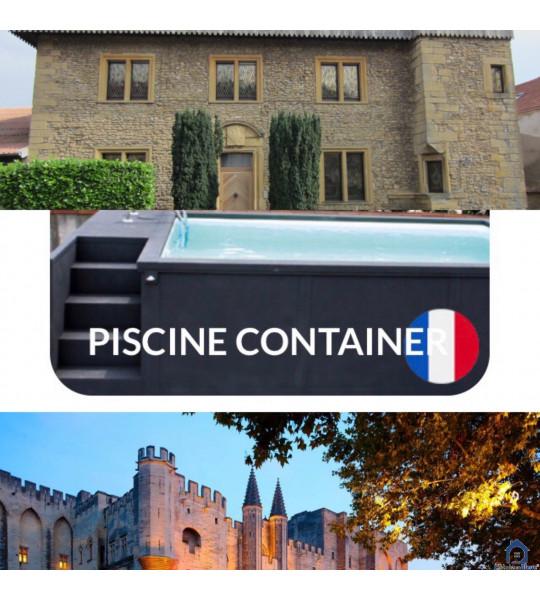 Marange-Silvange 57535 container piscine mobile 5M25x2M55x1M26