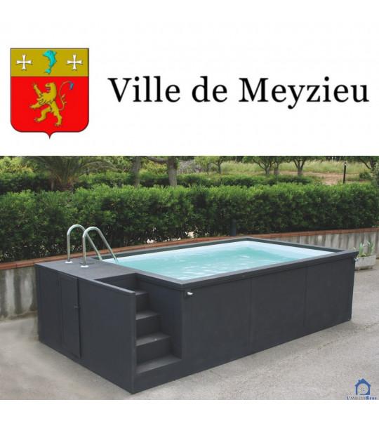 69330 Meyzieu container piscine 5M25x2M55x1M26