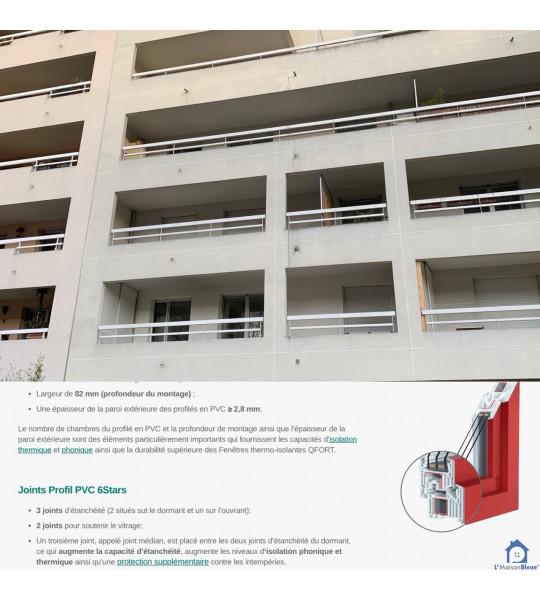 Changer les menuiseries rue du Dauphiné 69003 Lyon