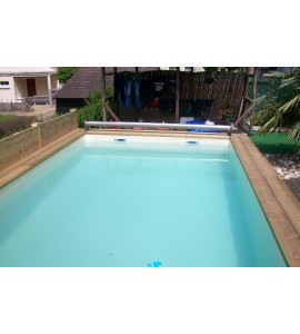Kit Piscine bois 10Mx4Mx1M30 rectangulaire