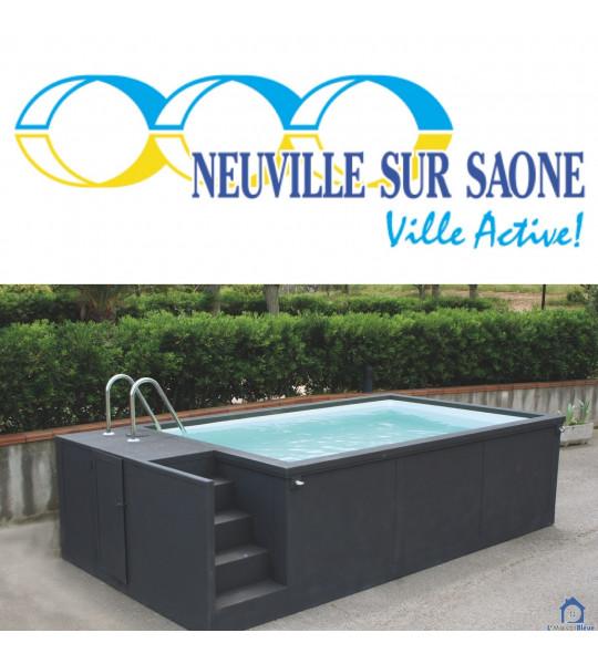 69250 Neuville-sur-Saône Container piscine mobile 5M25x2M55x1M26