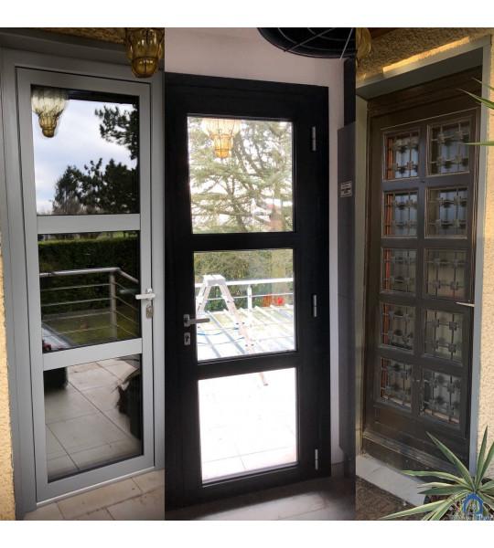 Pose porte d entrée (01330) Villars les Dombes