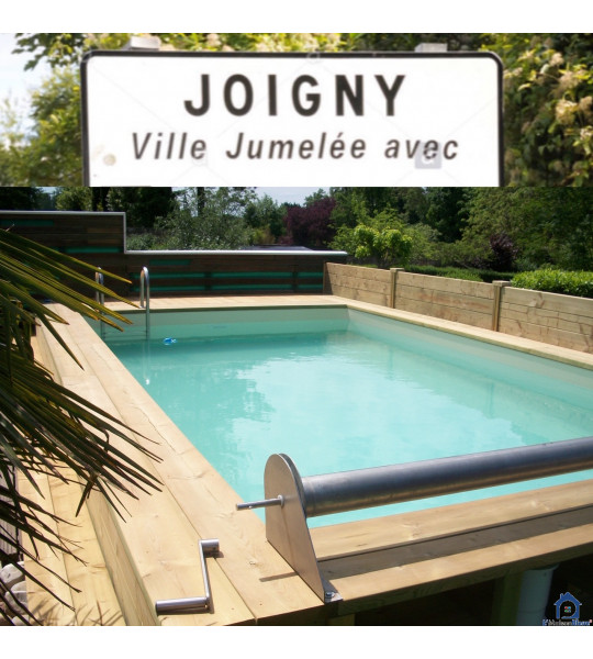 Piscine bois 8Mx4Mx1M30 rectangulaire (89300) Joigny