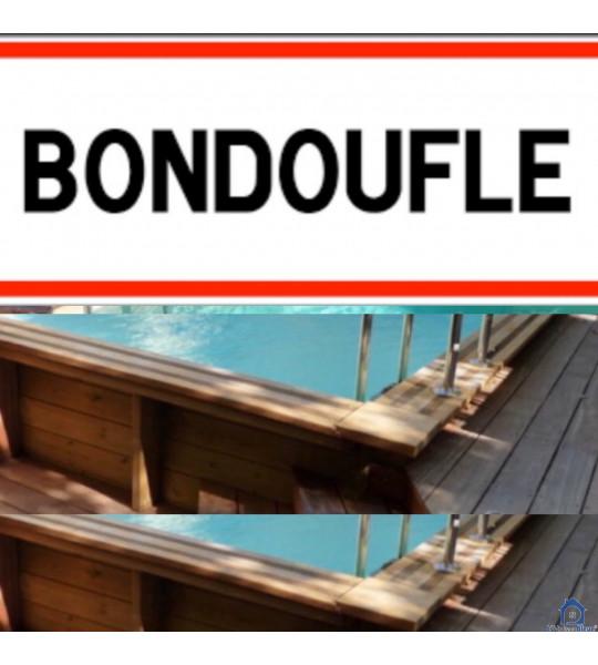 Montage piscine bois 4Mx2M50x1M30 rectangulaire (91070) Bondoufle