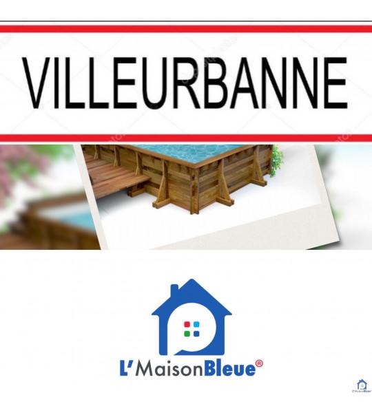 Kit Piscine bois 4Mx2M50x1M30 rectangulaire Villeurbanne (69100) Rhône