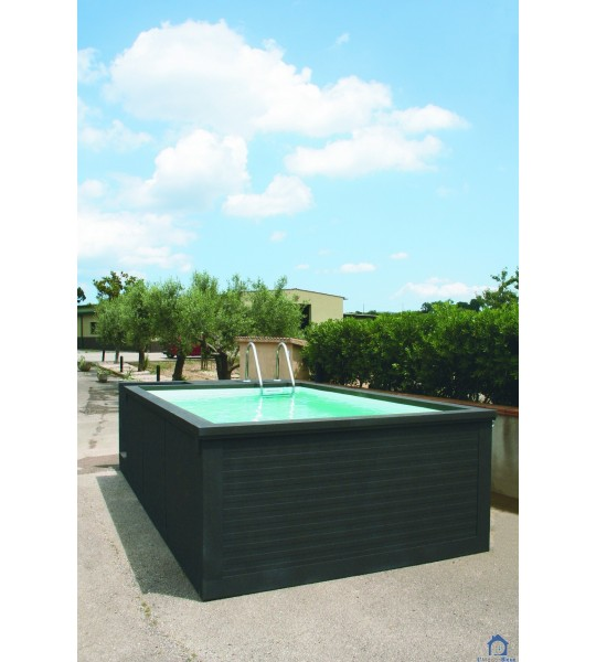 (45520 Gidy) Container piscine mobile 5M25x2M55x1M26