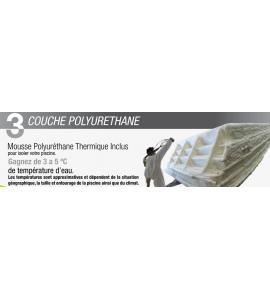 Piscine Coque rectangulaire 9M70x4M20x1M50 (31450 Baziege)