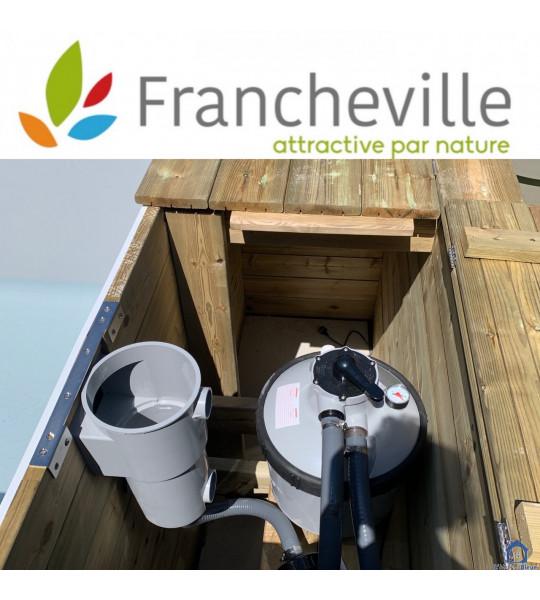Kit Piscine bois 6M20x2M50x1M33 (69340) Francheville