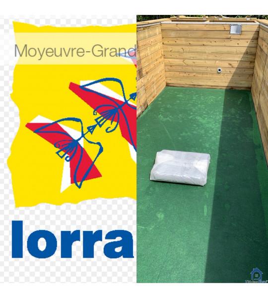 Kit Piscine bois 6M20x2M50x1M33 (57250) Moyeuvre-Grande