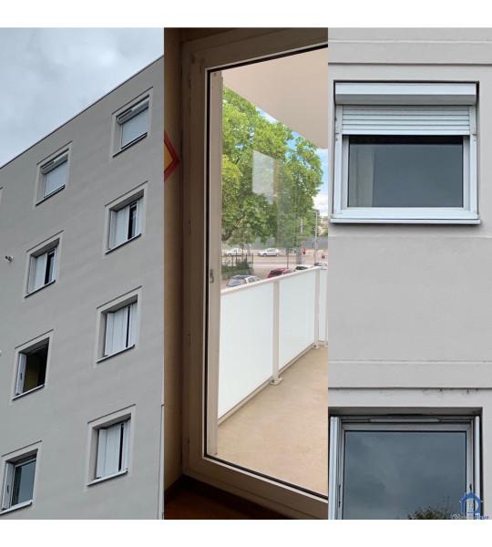 Changement menuiseries & volets roulants Rue Maryse Bastié 69008 Lyon