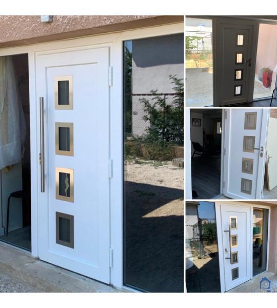 Rectification porte d'entrée village Vénissieux (69200)