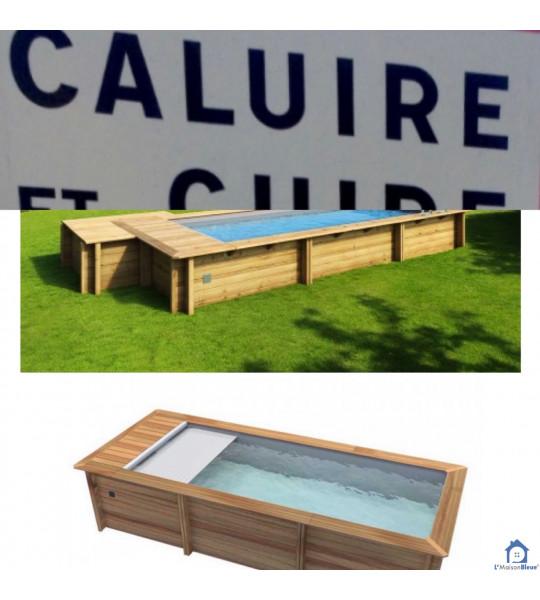 Kit Piscine bois 4M20x3M50x1M33 (69) Caluire-et-Cuire