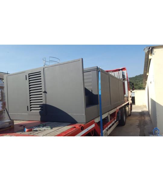 Piscine container sans montage Lyon 5M25x2M55x1M26