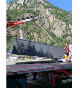 Portugal sans pose piscine container 5M25x2M55x1M26