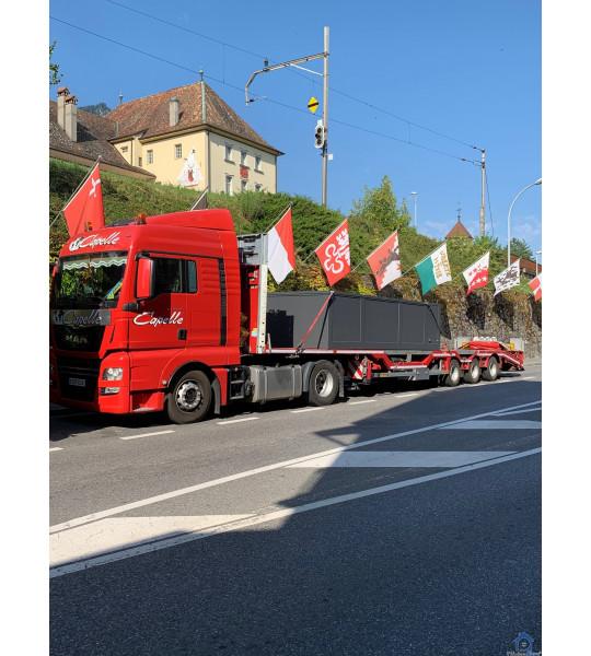 Suisse Container piscine discount 5M25x2M55x1M26