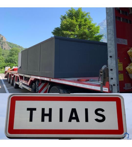 (94320 Thiais) Container piscine mobile 5M25x2M55x1M26