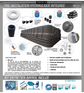 Hydrothérapie 10M20x4M20x1M50