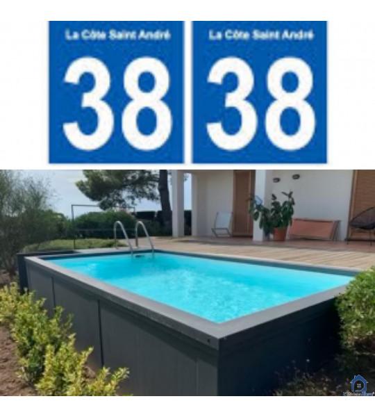 La Côte-Saint-André (38260) Container piscine 5M25x2M55x1M26
