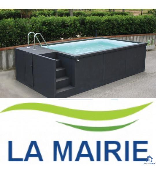 Pays du Cerdon (01450) Container piscine 5M25x2M55x1M26