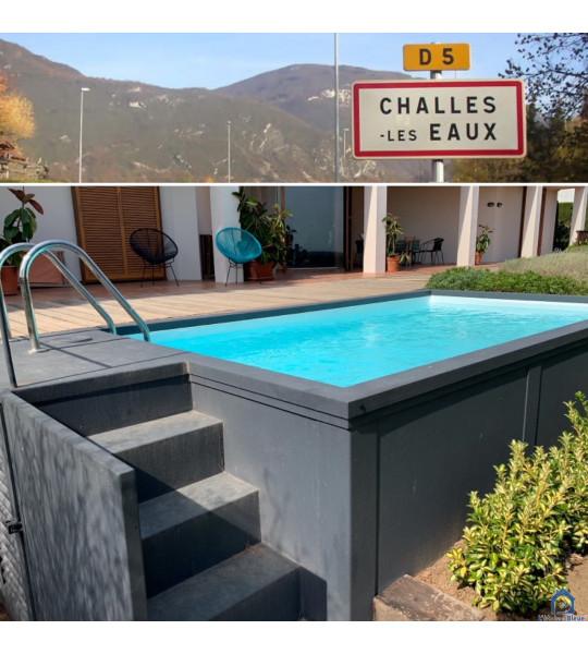 Container piscine 5M25x2M55x1M26 - (73190) Challes-les-Eaux