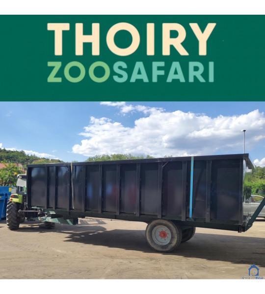 (Thoiry 01710) Piscine Container en acier 6Mx3Mx1M40