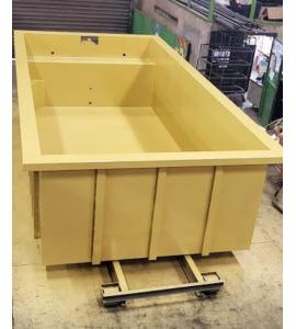 Installation Piscine Container acier 6Mx3Mx1M40