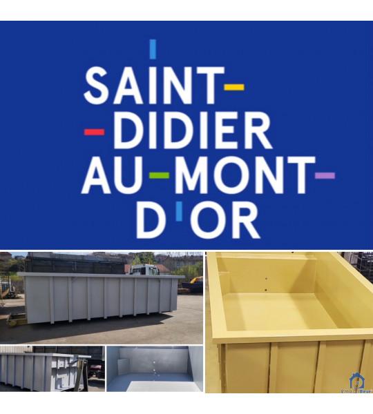 Piscine Container acier 4M30x2M30x1M56 (69370) St Didier au Mont D'or