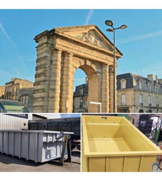 Piscine Container acier 4M30x2M30x1M56 (33000) Bordeaux